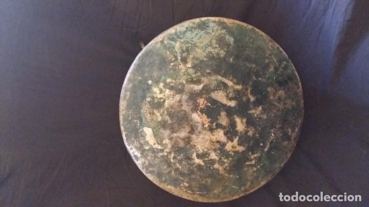 Antigüedades: ANTIGUA OLLA DE COBRE. 3,650 KG. - Foto 4 - 170486708