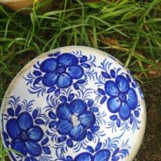 Antigüedades: BOL PINTADO A MANO. Lote 170516181