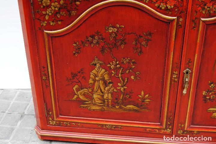 Antigüedades: Antigua vitrina oriental - Foto 4 - 170523364