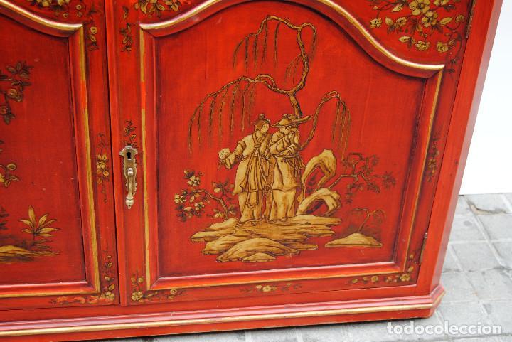 Antigüedades: Antigua vitrina oriental - Foto 5 - 170523364