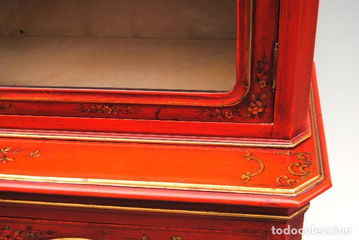 Antigüedades: Antigua vitrina oriental - Foto 13 - 170523364