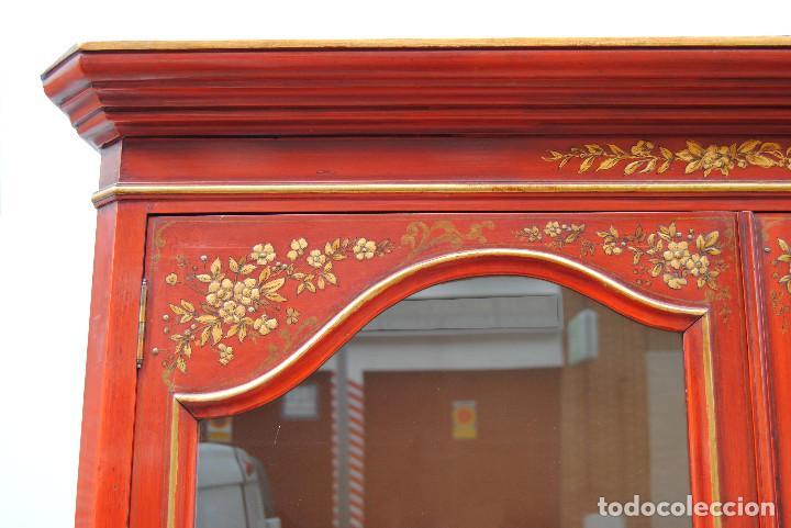 Antigüedades: Antigua vitrina oriental - Foto 15 - 170523364