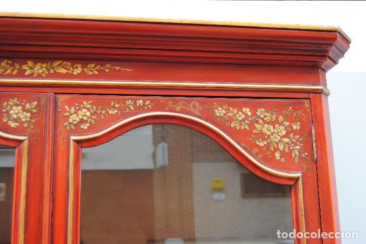 Antigüedades: Antigua vitrina oriental - Foto 16 - 170523364
