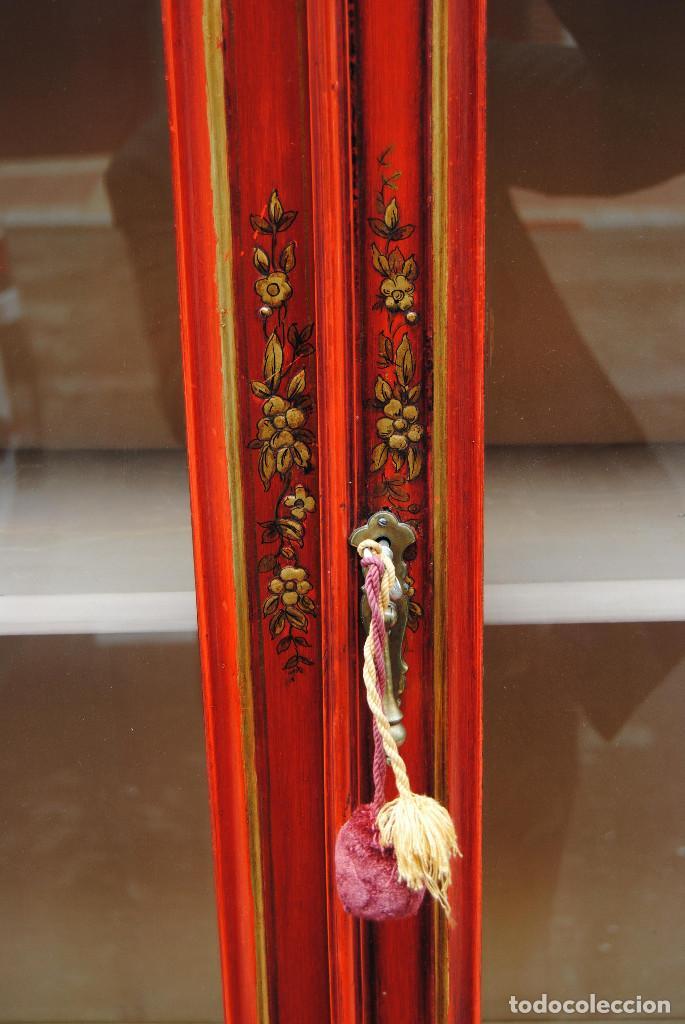 Antigüedades: Antigua vitrina oriental - Foto 17 - 170523364