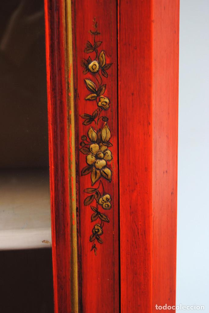 Antigüedades: Antigua vitrina oriental - Foto 23 - 170523364