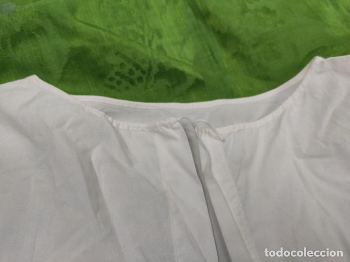 Antigüedades: Antigua camisa de niña - Foto 4 - 170528816