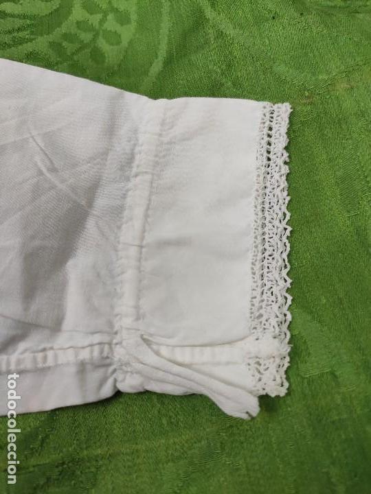 Antigüedades: Antigua camisa de niña - Foto 6 - 170528816