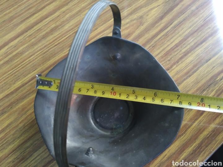 Antigüedades: Centro de mesa metalico - Foto 5 - 170551034