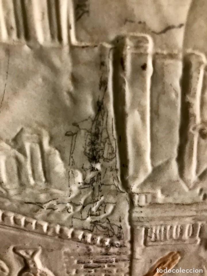 Antigüedades: CUADRO EN RESINA CON RELIEVE ESCENA GRIEGA - Foto 7 - 170574600