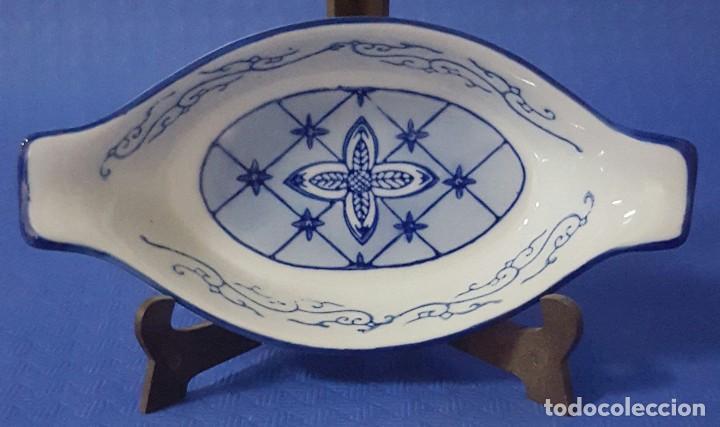 CERÁMICA BANDEJA DECORADA (Antigüedades - Porcelanas y Cerámicas - Otras)