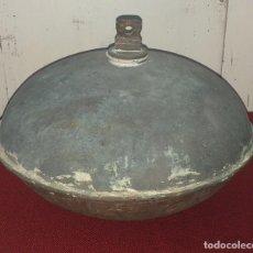 Antigüedades: CALIENTA CAMAS DE COBRE SIGLO XIX. Lote 170644140