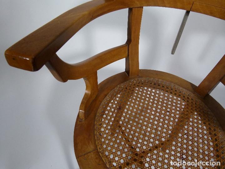 Antigüedades: SILLA DE BARBERO SIGLO XIX - Foto 7 - 170668890