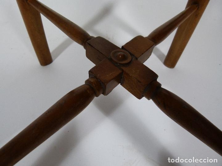 Antigüedades: SILLA DE BARBERO SIGLO XIX - Foto 9 - 170668890