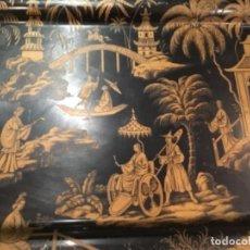 Antigüedades: ANTIGUA BANDEJA ORIENTAL WORCESTER WARE. Lote 170778885