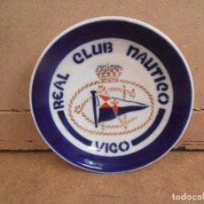 Antigüedades: PLATO TIPO CAFE -- O CASTRO - REAL CLUB NAUTICO VIGO - SARGADELOS. Lote 170862105