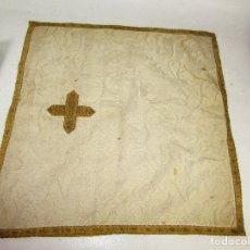 Antigüedades: BONITO PAÑO MANTO TRAPO ALTAR CAPILLA IGLESIA CURA SACERDOTE CRUZ ANTIGUO. Lote 170878090
