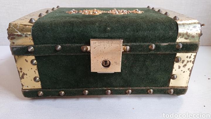 Antigüedades: Impresionante joyero antiguo musical - Foto 2 - 170878174
