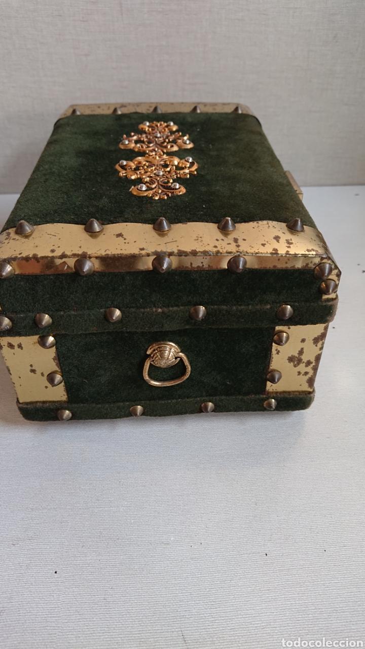 Antigüedades: Impresionante joyero antiguo musical - Foto 4 - 170878174
