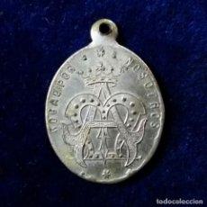 Antigüedades: ANTIGUA MEDALLA RELIGIOSA SIGLO XIX. Lote 170901250