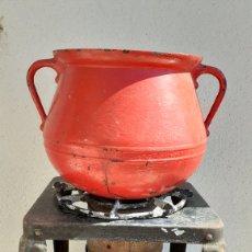 Antigüedades: ANTIGUO HORNILLO. OLLA HIERRO.. Lote 170912205