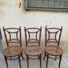 Antigüedades: LOTE DE 3 SILLAS ANTIGUAS. Lote 170929970