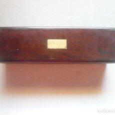 Antigüedades: CAJA DE CAOBA ANTIGUA.. Lote 170942085
