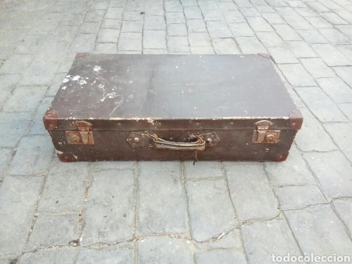ANTIGUA MALETA (Antigüedades - Varios)