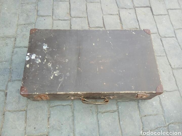 Antigüedades: ANTIGUA MALETA - Foto 2 - 170952329