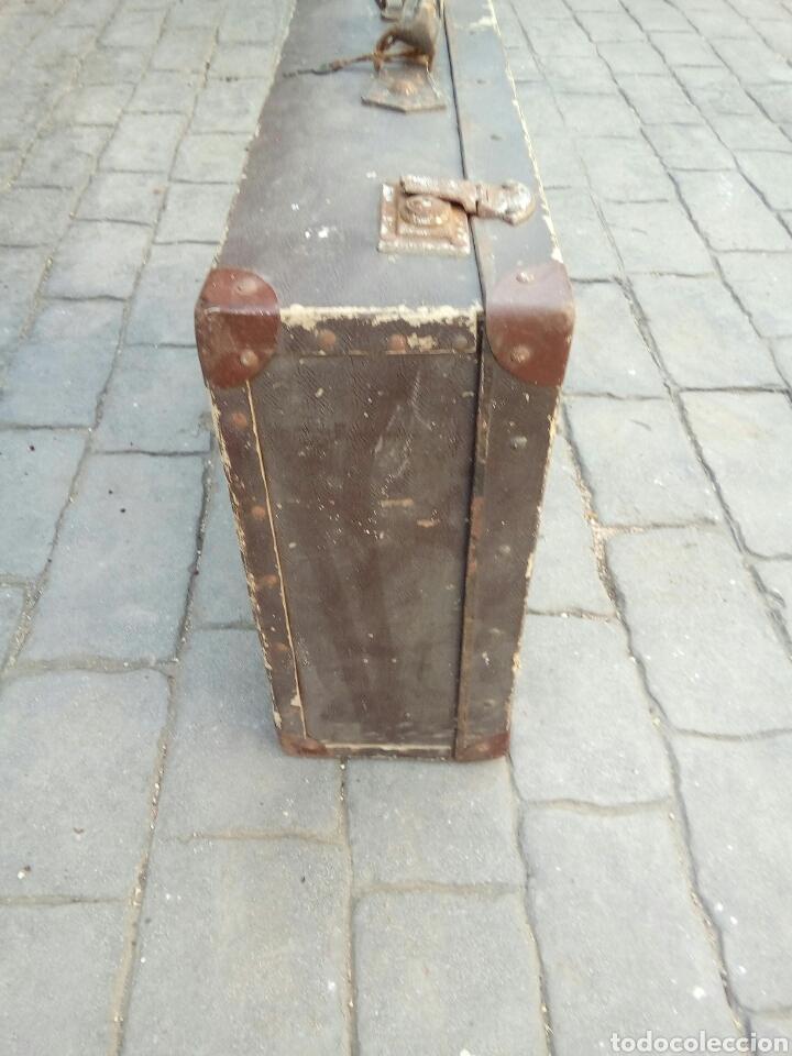 Antigüedades: ANTIGUA MALETA - Foto 6 - 170952329