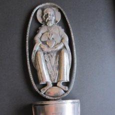 Antigüedades: ANTIGUA BENDITERA REALIZADA EN PLATA DE LEY. Lote 170973928