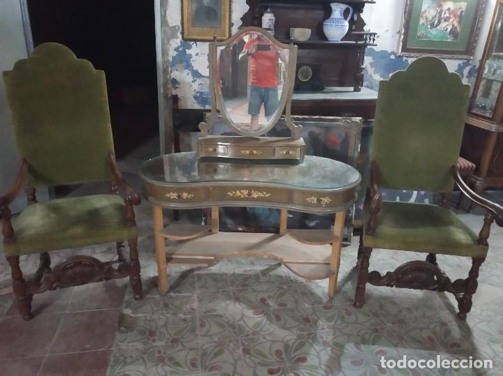 CÓMODA ESPEJO VINTAGE (Antigüedades - Muebles - Cómodas Antiguas)