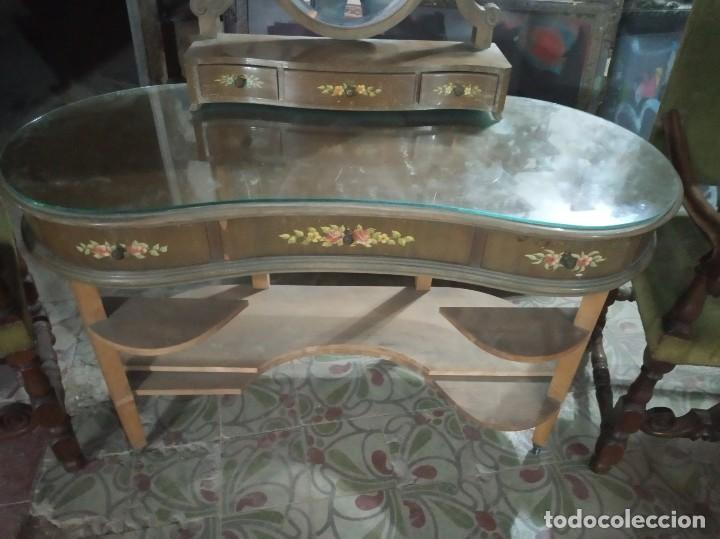 Antigüedades: Cómoda espejo vintage - Foto 2 - 170986437