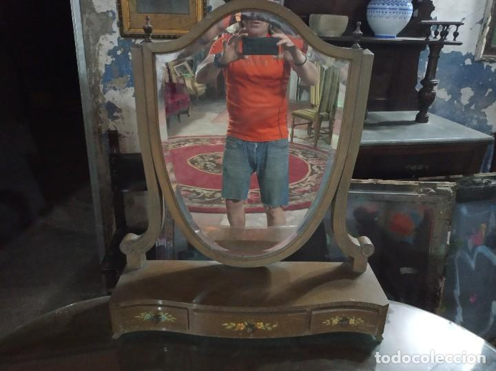 Antigüedades: Cómoda espejo vintage - Foto 4 - 170986437