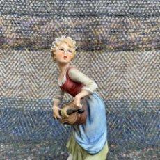 Antigüedades: FIGURA PORCELANA. Lote 170989527