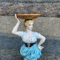 Antigüedades: FIGURA PORCELANA. Lote 170989768