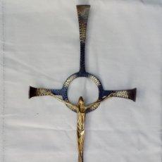 Antigüedades: RARÍSIMO CRUCIFIJO VANGUARDISTA. Lote 171011558