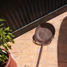 Antigüedades: MAGNIFICA SARTÉN DEL SIGLO XVIII GRAN TAMAÑO, ÚNICA. Lote 171018195