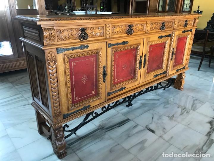 GRAN APARADOR ESPAÑOL. R 6343 (Antigüedades - Muebles Antiguos - Aparadores Antiguos)