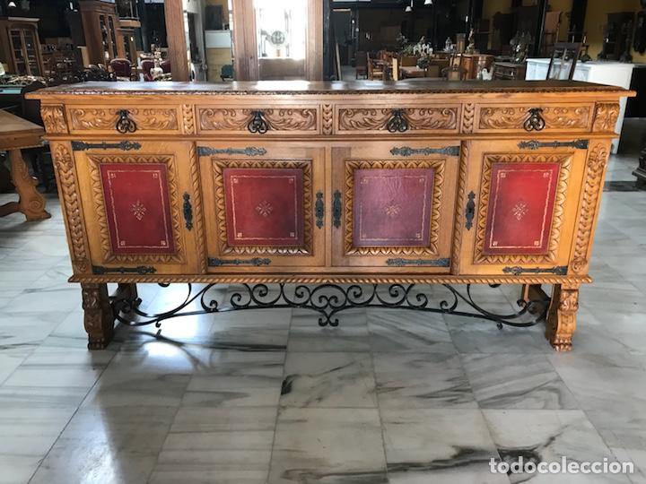 Antigüedades: Gran Aparador español. R 6343 - Foto 2 - 171023005