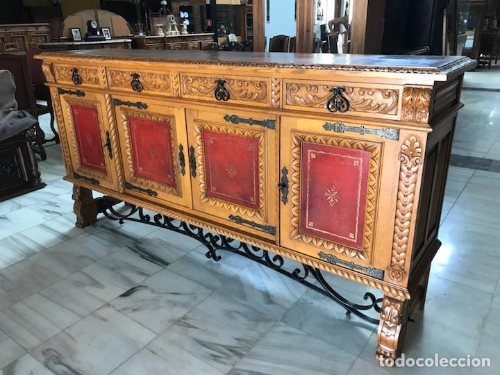 Antigüedades: Gran Aparador español. R 6343 - Foto 3 - 171023005