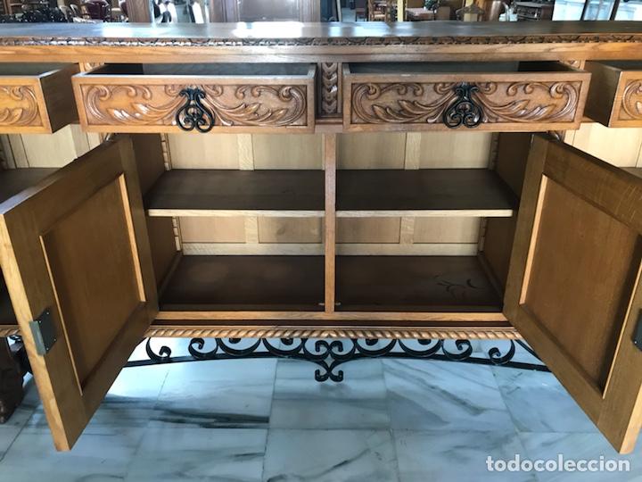Antigüedades: Gran Aparador español. R 6343 - Foto 5 - 171023005