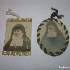 Antigüedades: DOS ANTIGUOS RELICARIOS.. Lote 171029668