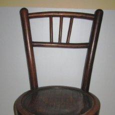 Antigüedades: SILLA SILLITA ANTIGUA THONET MADERA FRANCO TORMO (1865-1941). Lote 171032084
