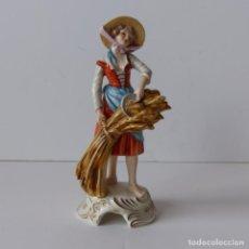 Antigüedades: FIGURA DE PORCELANA DE GÖBEL , GOBEL. FIRMADO BOCHMANN. ALEMANIA 1972. Lote 171034542