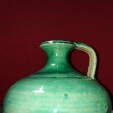 Antigüedades: BONITA PERULERA EN CERAMICA VIDRIADA ESMALTADA. Lote 171047210