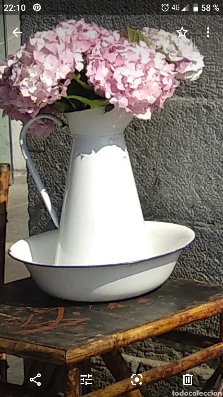 JARRA Y PALANGANA (Antigüedades - Técnicas - Rústicas - Utensilios del Hogar)