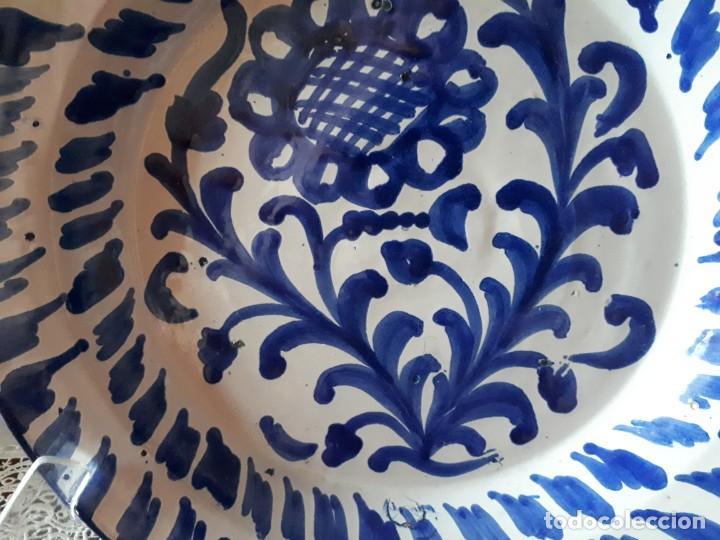Antigüedades: viejo plato de fajalauza - Foto 2 - 171065259