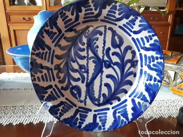 VIEJO PLATO DE FAJALAUZA (Antigüedades - Porcelanas y Cerámicas - Fajalauza)