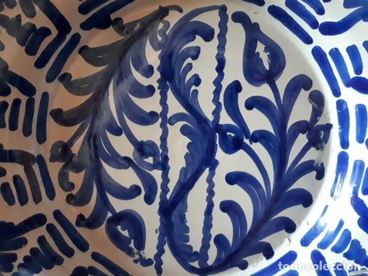 Antigüedades: viejo plato de fajalauza - Foto 3 - 171065288
