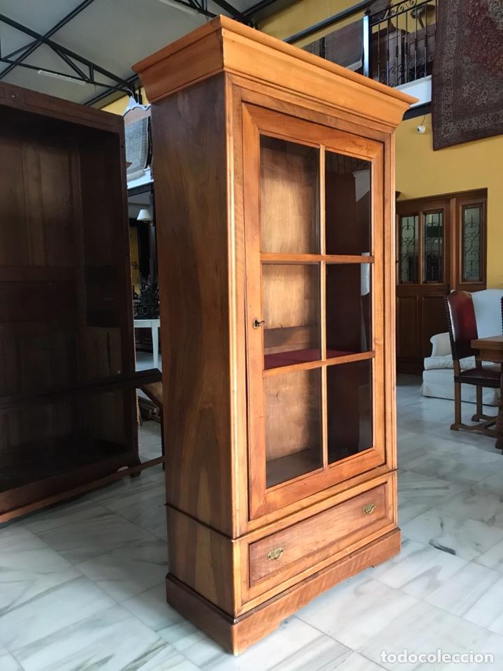 Antigüedades: Vitrina / biblioteca. R 6347 - Foto 2 - 171067025